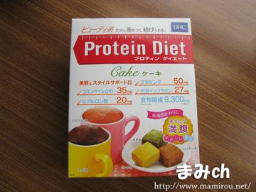 プロテインダイエットケーキタイプ 外箱