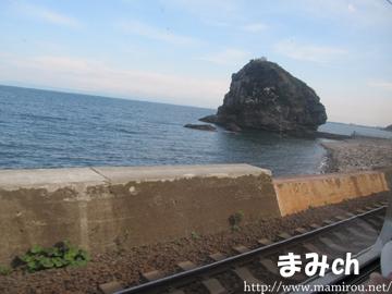 小樽付近の海にあった島