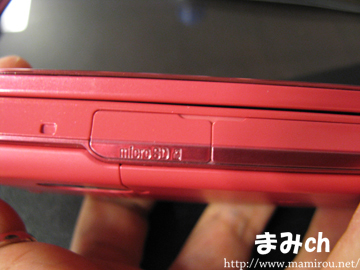 microSDカードスロット
