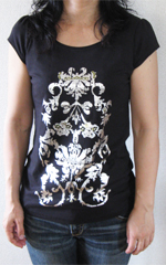 nextの黒Tシャツ