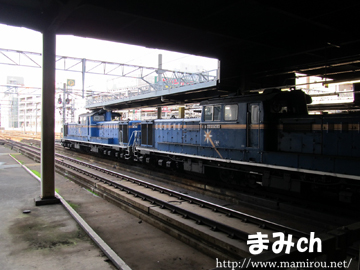 札幌駅で見かけたトワイライトエクスプレス